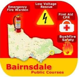 Bairnsdale Public Courses 13 & 14 May