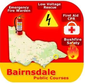 Sale-Bairnsdale Public Courses 13 Feb