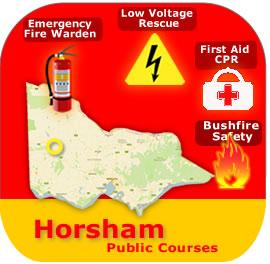 Horsham Public Courses 29 & 30 April