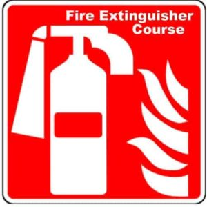 4. Fire Safety – Fire Extinguisher Training