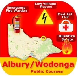 Albury/Wodonga Public Course 25 & 26 March