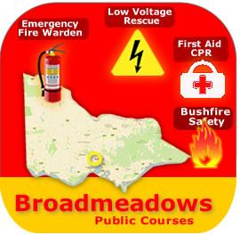 Broadmeadows Public Courses 10th Feb