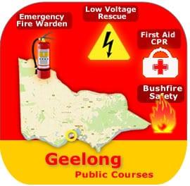 Geelong Public Courses 7 & 8 April
