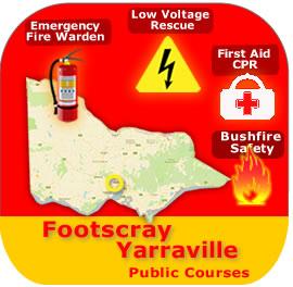 Footscray/Yarraville Public Courses 24 Feb