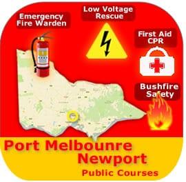 Port Melbourne/Newport Course 10 Mar