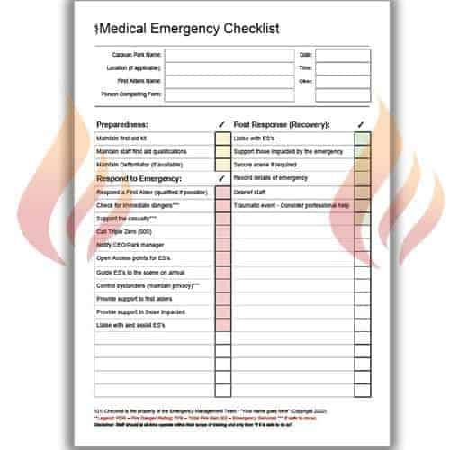 medical checklist