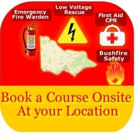 Onsite Course or Services Bookings
